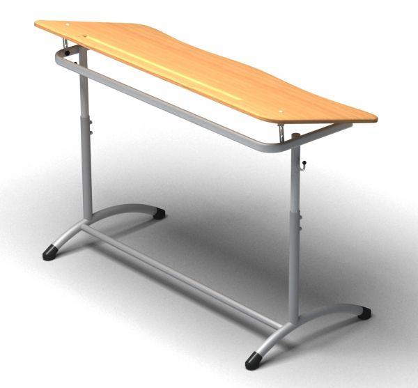 Эргономичная столешница мдф с пластиковым покрытием и желобами для карандашей столешница для кухни мрамор аликанте