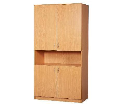 Шкаф широкий закрытый 4 двери с нишей - шкафы и тумбы для уч.
